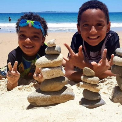 Raising biracial kids on your own